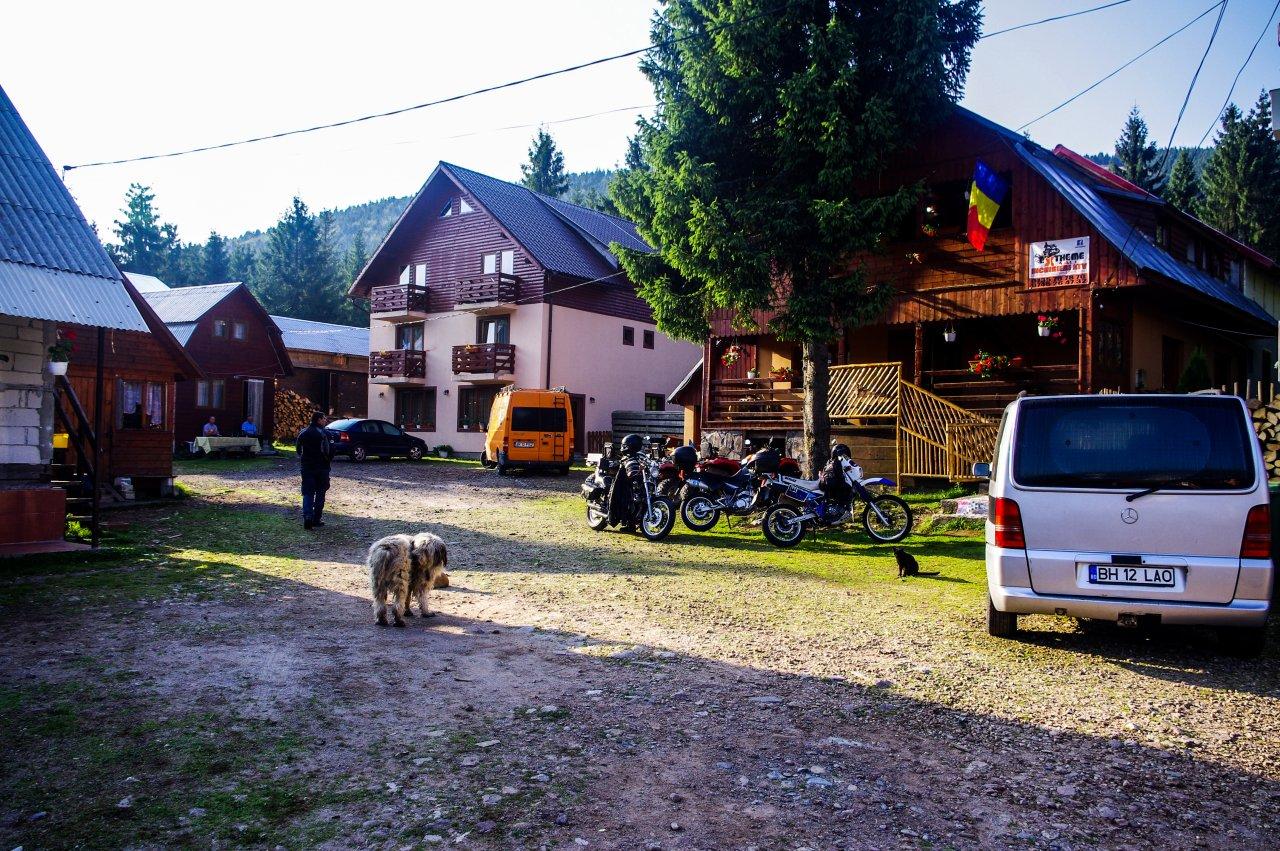 A szállás Vértopon(másnap reggel)