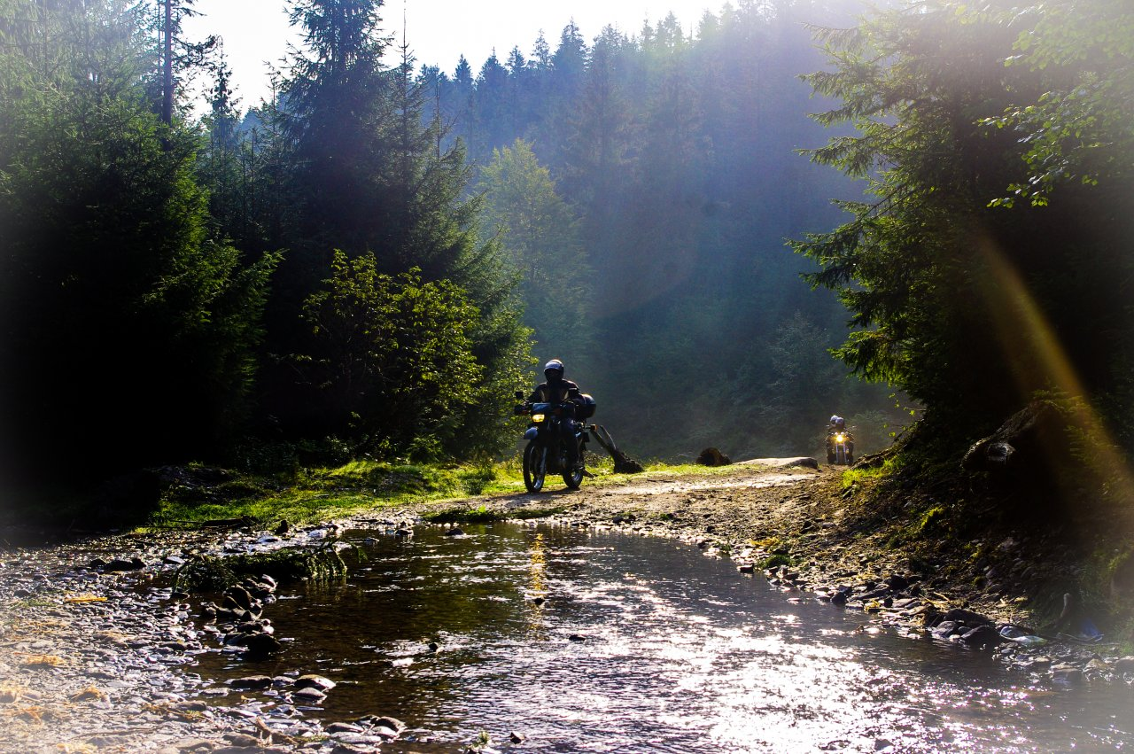A Vízeséshez vezető út is egy külön élmény