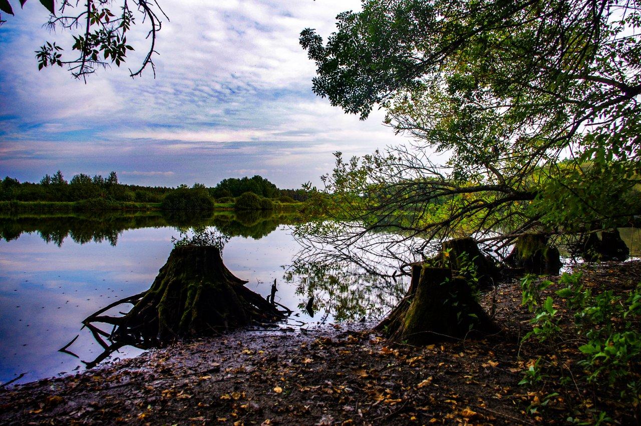 A Hármashegyi-tó lenyűgöző látványa