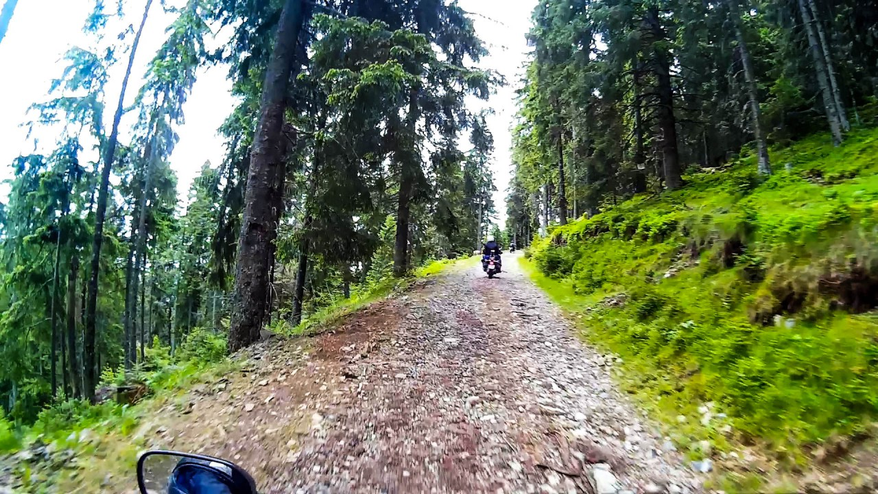 A gyönyörű szép ösvény a látványt nem adta könnyen.