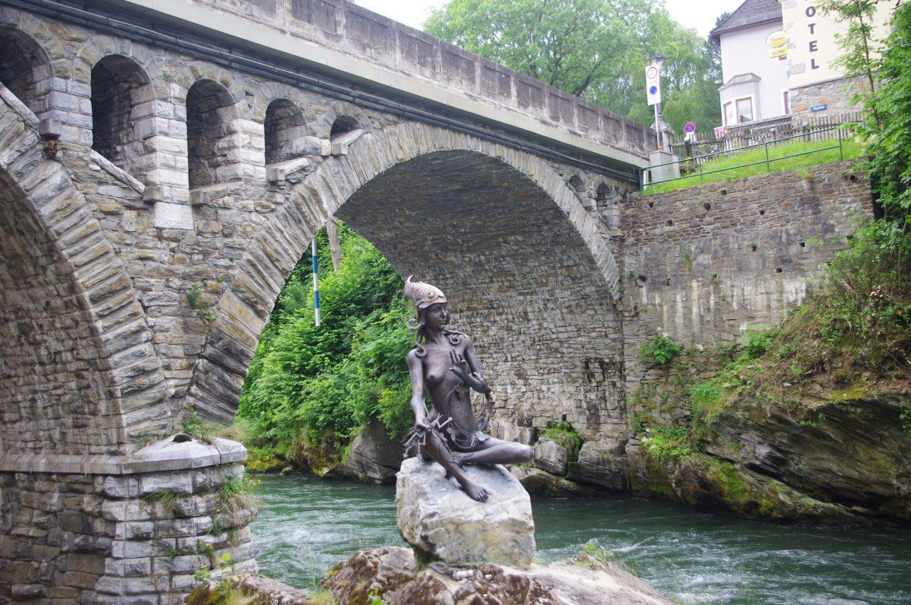Murna híres szobra