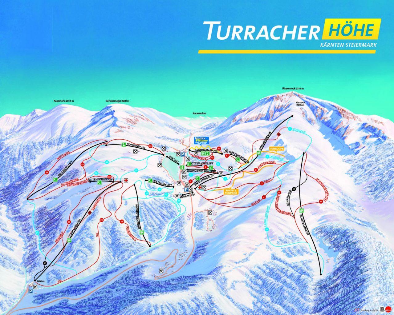 Turracher höhe sípálya