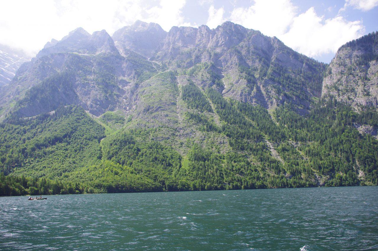 Héttérben a Watzmann hegység