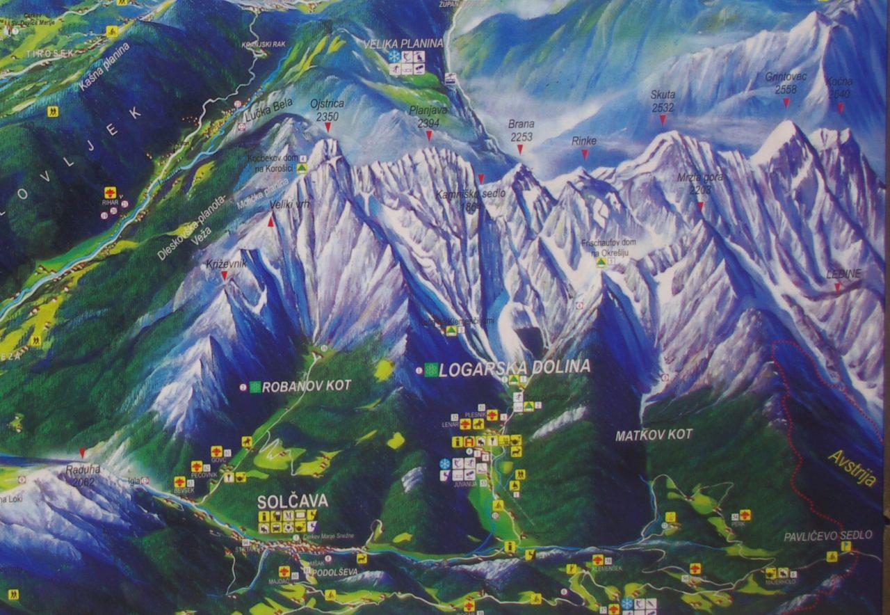 Savinja térkép