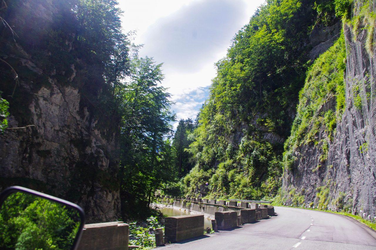 Útban Bled felé a Kokra-patak mentén