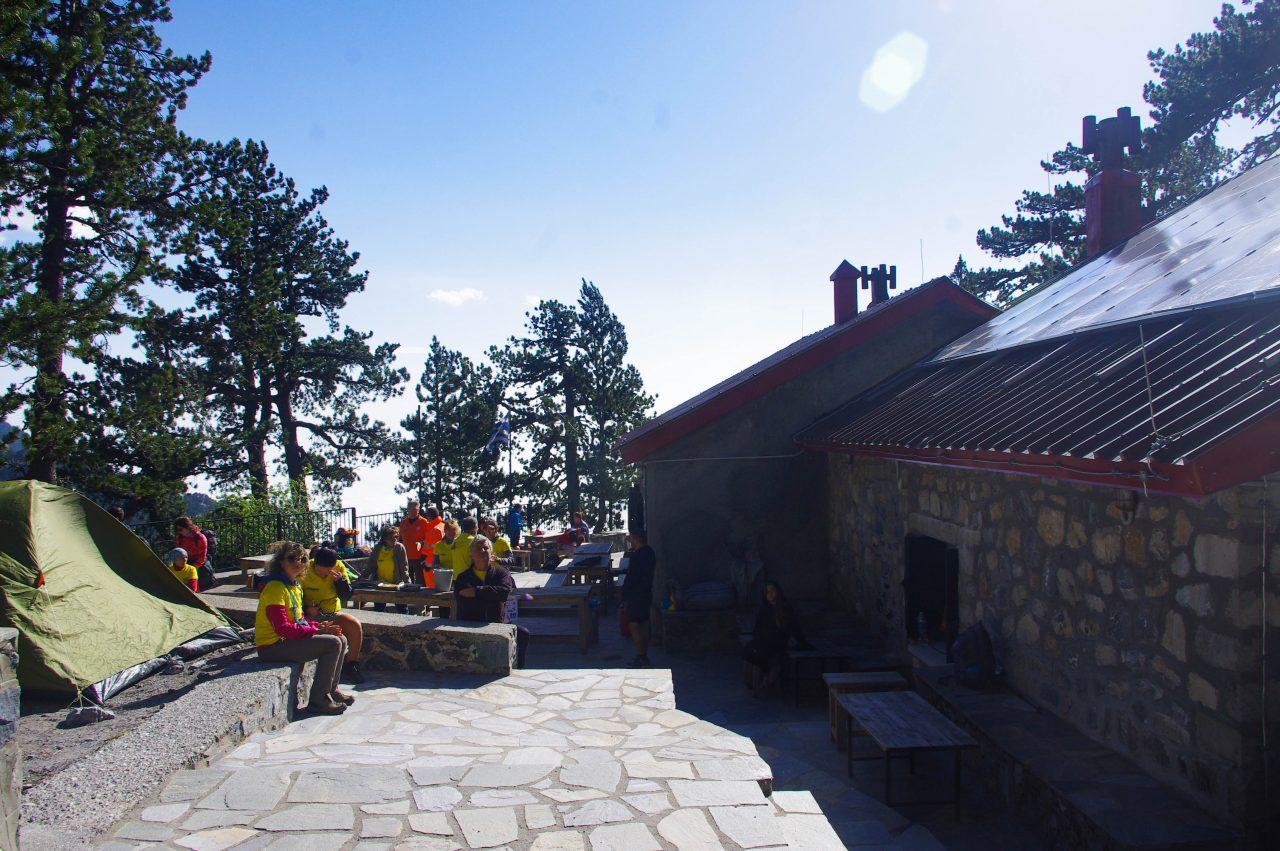 Az Spilios Agapitos menedékház: