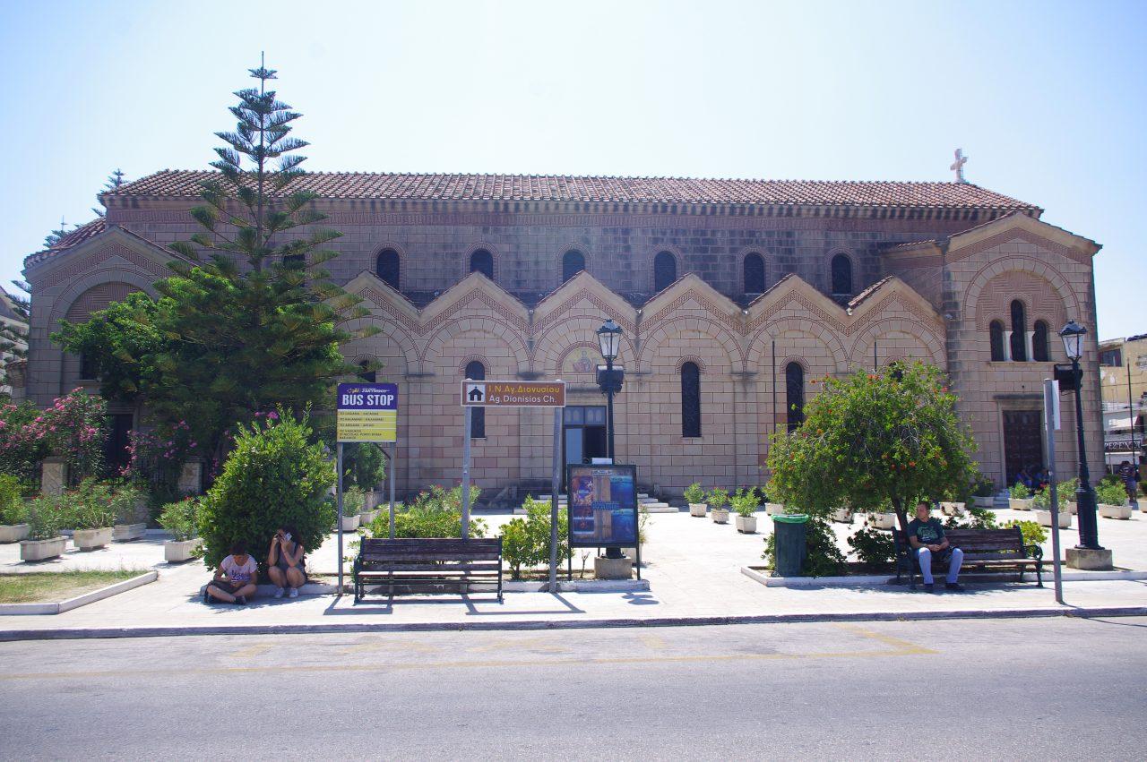 Az Agios Dionysios (Szent Dionisziosz) templom