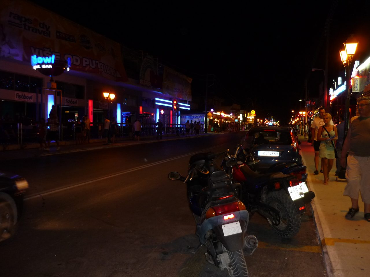 Éjszakai élet Laganasban