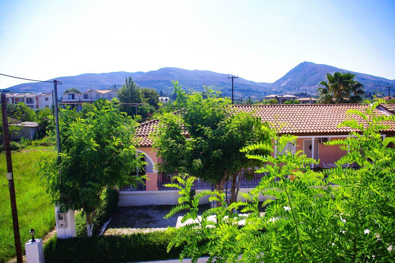 Kilátás a szállás erkélyéről - Agios Sostis