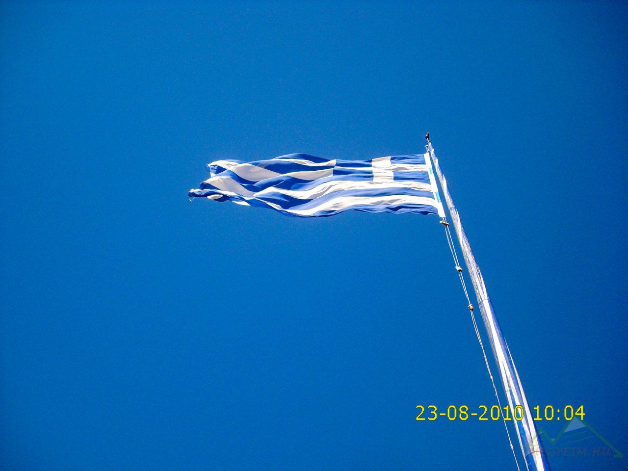 Keri világítótorony, Görögország legnagyobb zászlaja