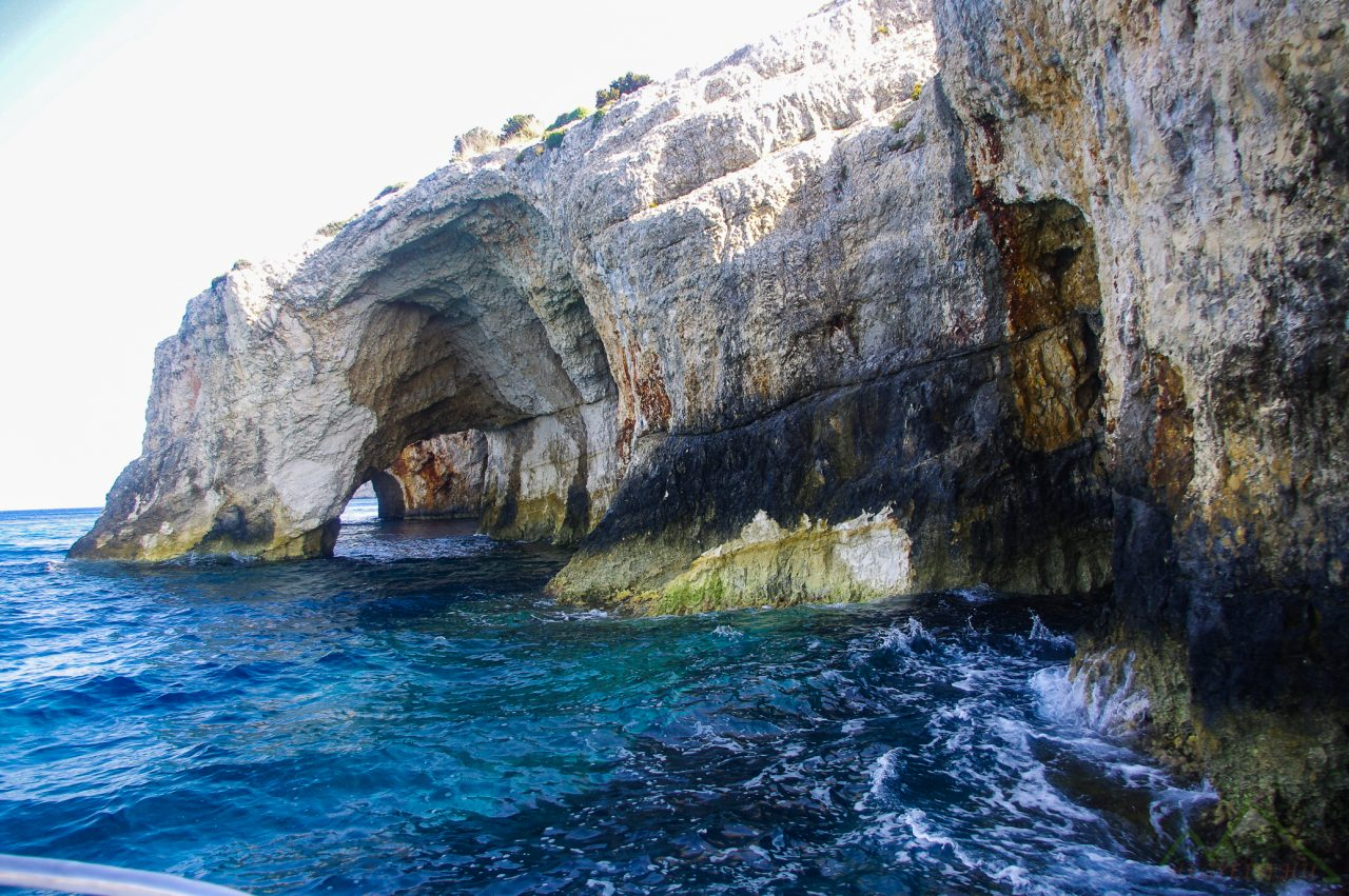 Skinari fok - Blue Caves