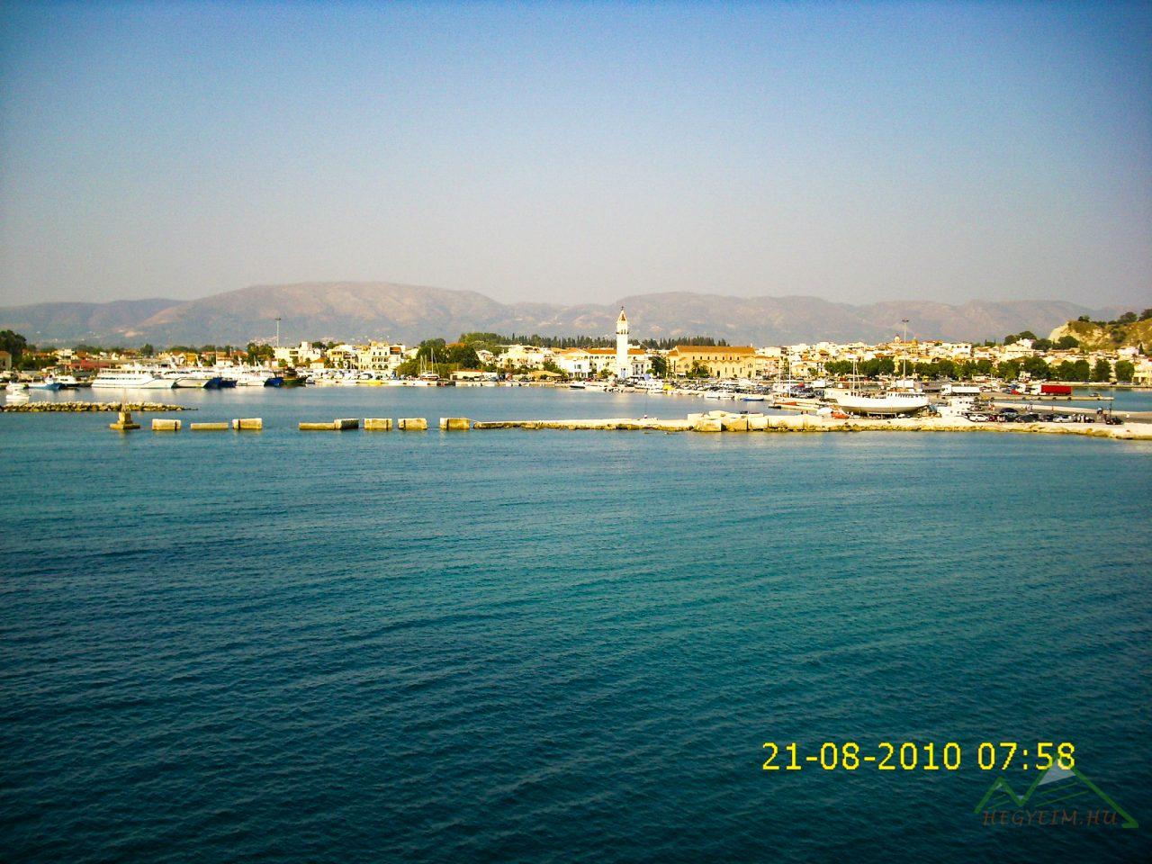 Zakynthosi kikötő