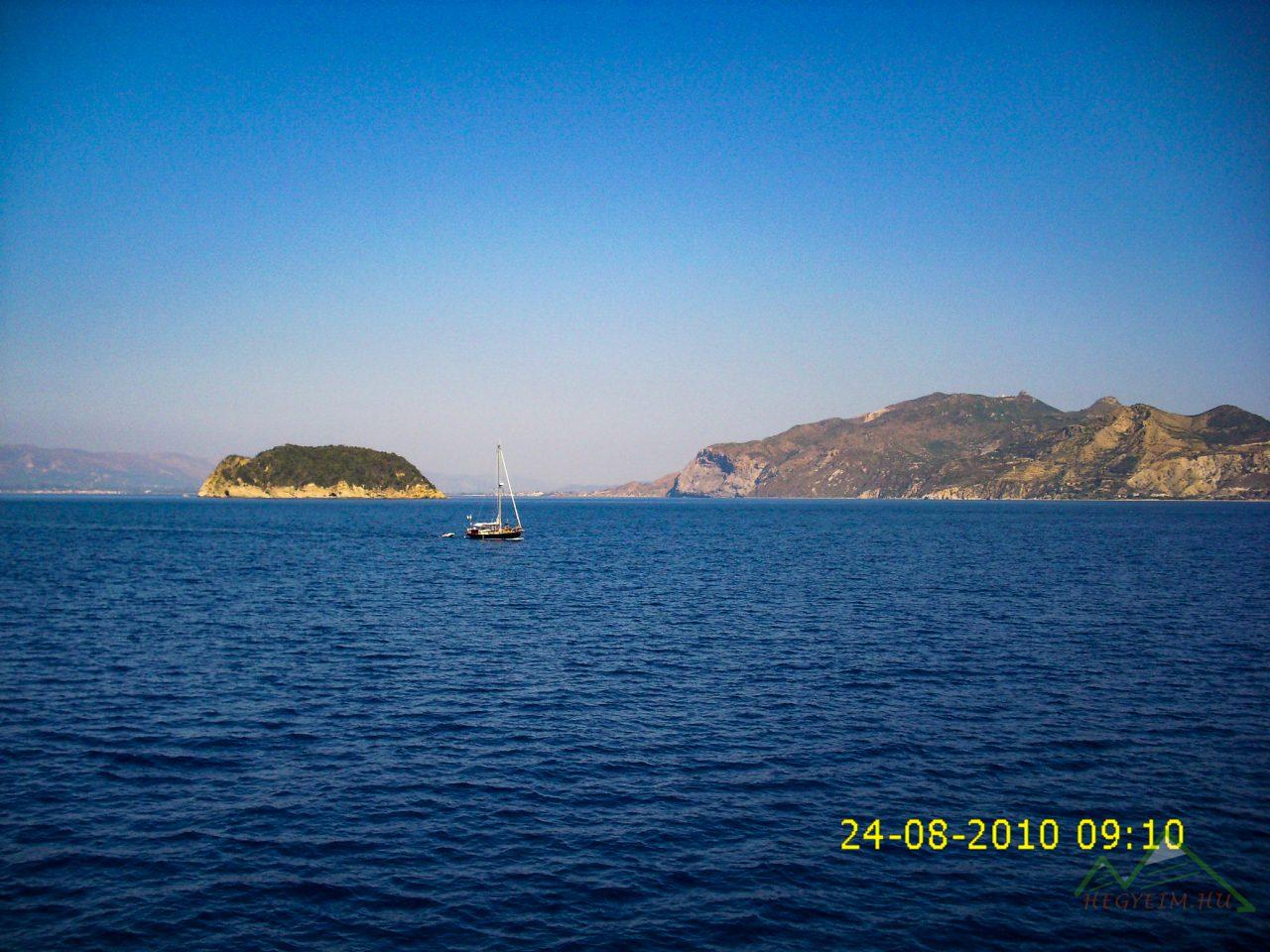 Kalonissi szigetet