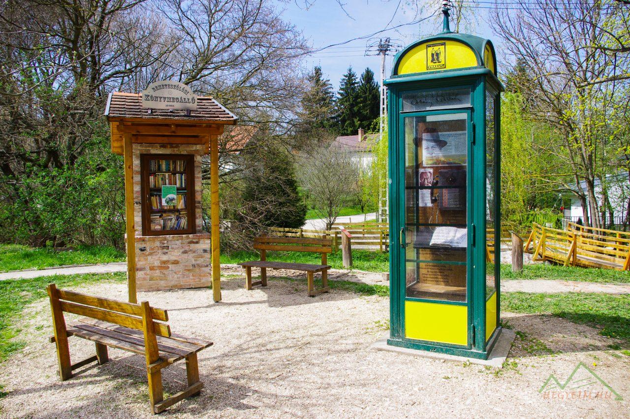 Az Örkény novellákat megszólaltató telefonfülke